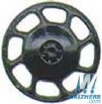 Kadee 2043 Universal Brake Wheels Black (8)